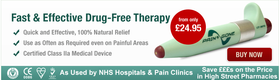 Pain Away available from only £29.95 with FREE UK Delivery - Buy Now